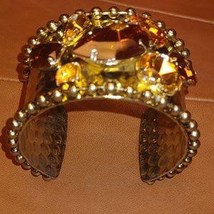 Metal gold Stone bracelet